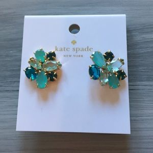 Never worn Kate Spade jeweled studs